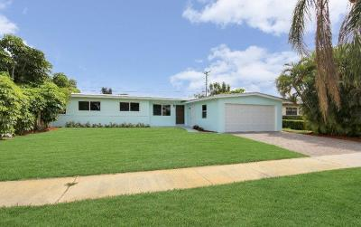 North Palm Beach Single Family Home For Sale: 758 Flamingo Way