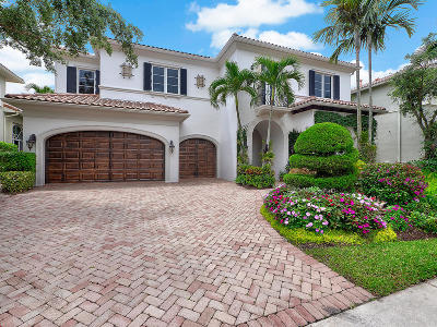Palm Beach Gardens Single Family Home For Sale: 110 Via Mariposa