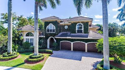 Boca Raton FL Single Family Home For Sale: $1,495,000