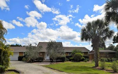 Martin County Single Family Home Contingent: 11266 SW Meadowlark Circle