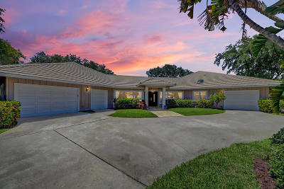 Martin County Single Family Home For Sale: 5681 SE Winged Foot Drive