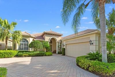 Palm Beach Gardens Single Family Home For Sale: 111 Vintageisle Lane