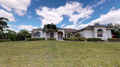 Port Saint Lucie Single Family Home For Sale: 247 SW Marathon Ave Avenue