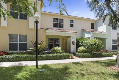 Boca Raton Townhouse For Sale: 1445 NW 48th Lane