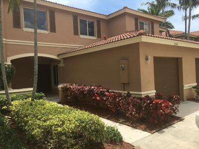 Broward County, Palm Beach County Townhouse For Sale: 5604 Crossing Rocks Court