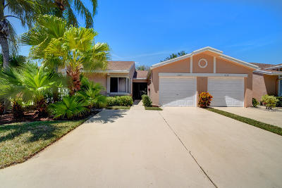 Boca Raton Single Family Home For Sale: 8187 Sweetbriar Way
