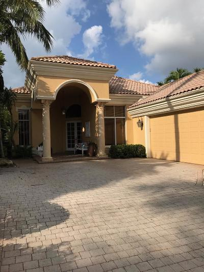 Boca Raton Single Family Home For Sale: 6461 Enclave Way