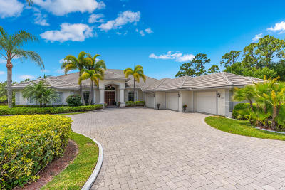 Port Saint Lucie Single Family Home For Sale: 7842 Sabal Lake Drive