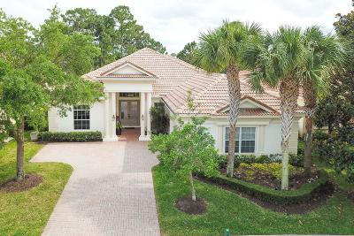 Port Saint Lucie Single Family Home For Sale: 9329 Briarcliff Trace