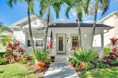 Jupiter Single Family Home For Sale: 148 Newcastle Drive