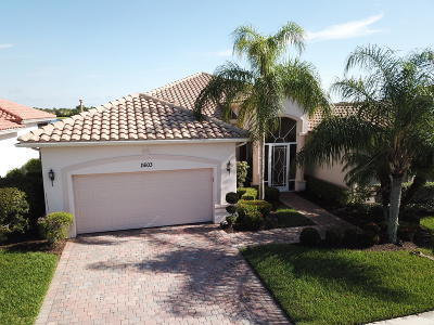 Port Saint Lucie Single Family Home For Sale: 11603 SW Apple Blossom Trail