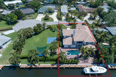 Palm Beach Gardens FL Single Family Home For Sale: $1,900,000