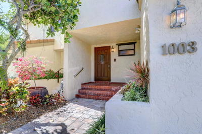 Highland Beach Townhouse For Sale: 1003 Bel Air Drive