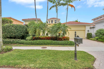 Palm Beach Gardens FL Single Family Home For Sale: $1,545,000