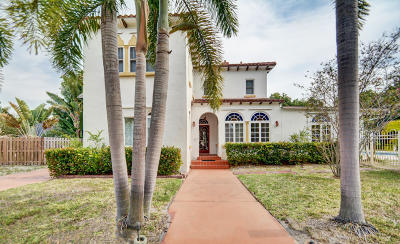 Lake Worth Single Family Home For Sale: 219 17th Avenue S