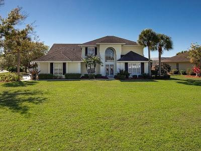 Palm City Single Family Home For Sale: 4218 SW Brookside Drive