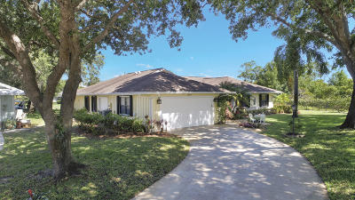 Hobe Sound Single Family Home For Sale: 13199 SE Spyglass Court