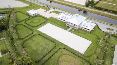 Wellington Single Family Home For Sale: 2990 Greenbriar Boulevard