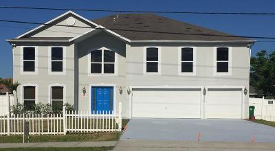 Port Saint Lucie Single Family Home For Sale: 3418 SW Savona Boulevard