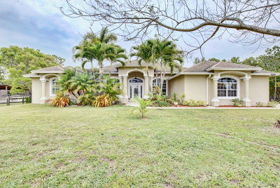 Loxahatchee Single Family Home For Sale: 17329 44th Place