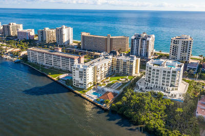 Highland Beach Condo For Sale: 3114 S Ocean Boulevard #307