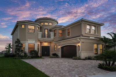 Delray Beach Single Family Home For Sale: 9913 Bozzano Drive