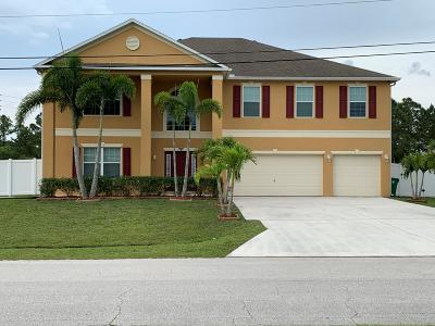 Saint Lucie West Single Family Home For Sale: 5443 NW Crisona Circle
