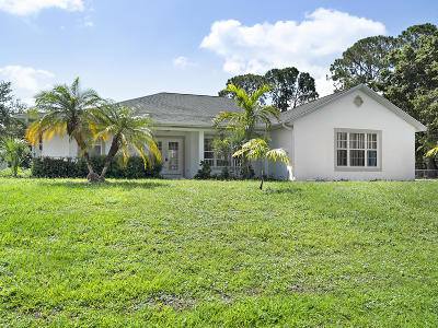 Port Saint Lucie Single Family Home For Sale: 1707 SW Import Drive