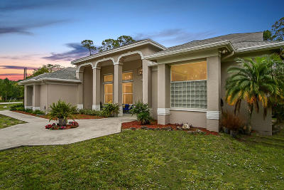 Loxahatchee Single Family Home For Sale: 15932 75th Lane