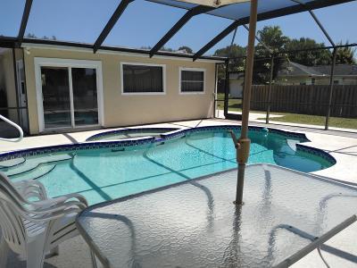 Port Saint Lucie Single Family Home Contingent: 518 SW Ester Avenue