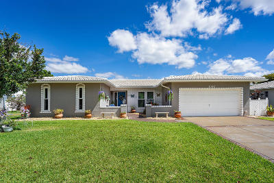Coral Springs Single Family Home Contingent: 1392 NW 86th Way