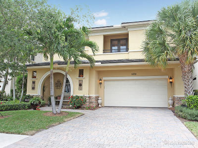 Palm Beach Gardens Single Family Home For Sale: 1075 Vintner Boulevard