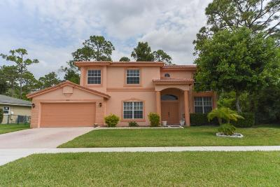 Royal Palm Beach Single Family Home For Sale: 221 Park Road