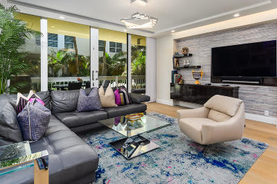 Palm Beach Condo For Sale: 330 S Ocean Boulevard #B-1