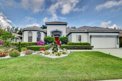 Boynton Beach Single Family Home For Sale: 8121 Muirhead Circle