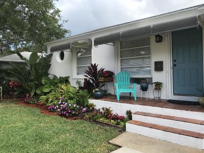 Lake Worth Single Family Home For Sale: 309 Columbia Drive