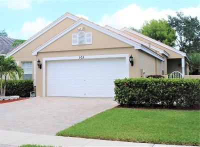 Royal Palm Beach Single Family Home For Sale: 105 Newberry Lane