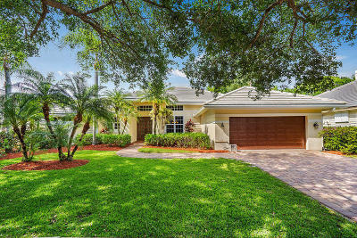 Jupiter Single Family Home For Sale: 105 Jeanette Way