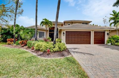 Boynton Beach Single Family Home For Sale: 6665 Conch Court