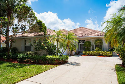 Palm Beach Gardens Single Family Home For Sale: 312 Kelsey Park Circle