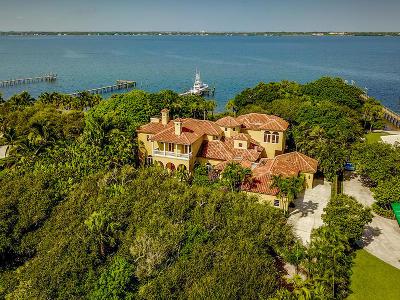 Stuart Single Family Home For Sale: 1912 NE Ocean Boulevard