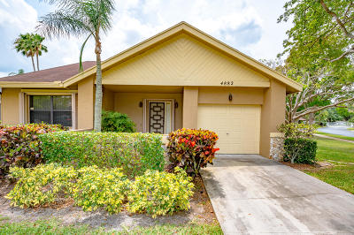 Coconut Creek Single Family Home For Sale: 4882 Calamondin Circle