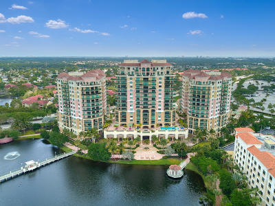 Palm Beach Gardens Condo For Sale: 3610 Gardens Parkway #1002a