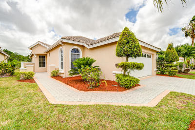 Port Saint Lucie Single Family Home For Sale: 619 SW Treasure Cove