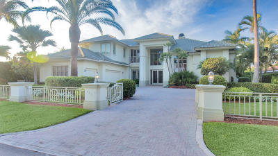Mizner Court, Mizner Court Cond I, Royal Palm Yacht & Cc, Royal Palm Yacht & Country Club, Royal Palm Yacht And Country Club, Royal Palm Yacht And Country Club Sub In Pb 26 Pgs, Royal Palm Yacht And Country Club Subdivision Single Family Home For Sale: 431 Thatch Palm Drive