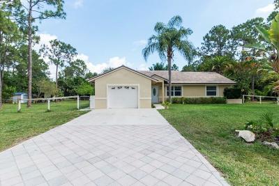 Loxahatchee Single Family Home For Sale: 15553 E 79th Court