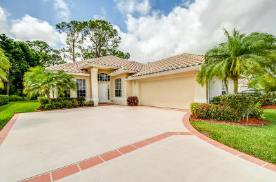 Port Saint Lucie Single Family Home For Sale: 8546 Belfry Place