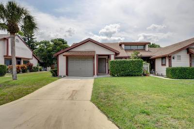 Port Saint Lucie Single Family Home For Sale: 1526 SE Hatfield Court #16