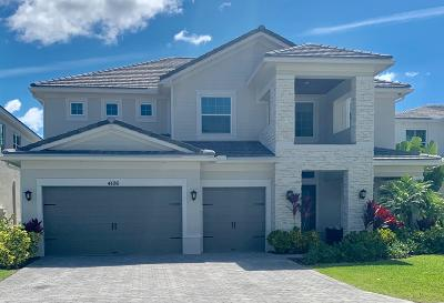 Lake Worth Single Family Home For Sale: 4106 Italia Way