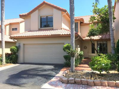 Boca Raton Townhouse For Sale: 23475 Water Circle